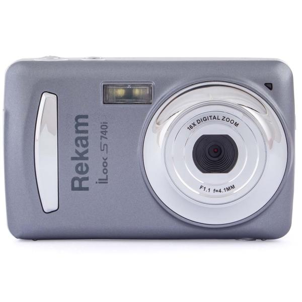 Фотоаппарат компактный Rekam iLook S740i Dark-Gray