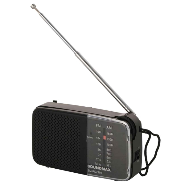 Soundmax SM-RD2101 черного цвета