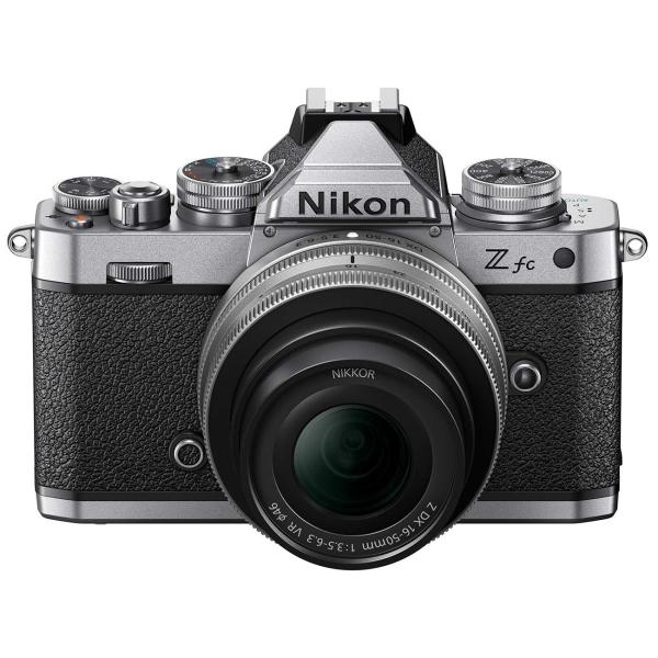 Nikon Z fc Kit w/DX 16-50mm f/3.5-6.3 VR (SL) Z fc Kit w/DX 16-50mm f/3.5-6.3 VR (SL)