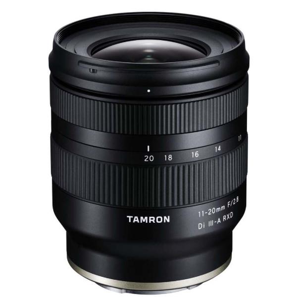 Tamron 11-20mm F/2.8 Di III-A2 RXD Sony E (B060S) 11-20mm F/2.8 Di III-A2 RXD Sony E (B060S) черного цвета