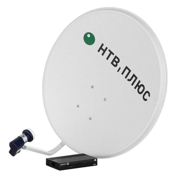 Комплект цифрового ТВ НТВ-Плюс HD Simple III Сибирь комплект спутникового телевидения нтв плюс ntv plus hd simple iii