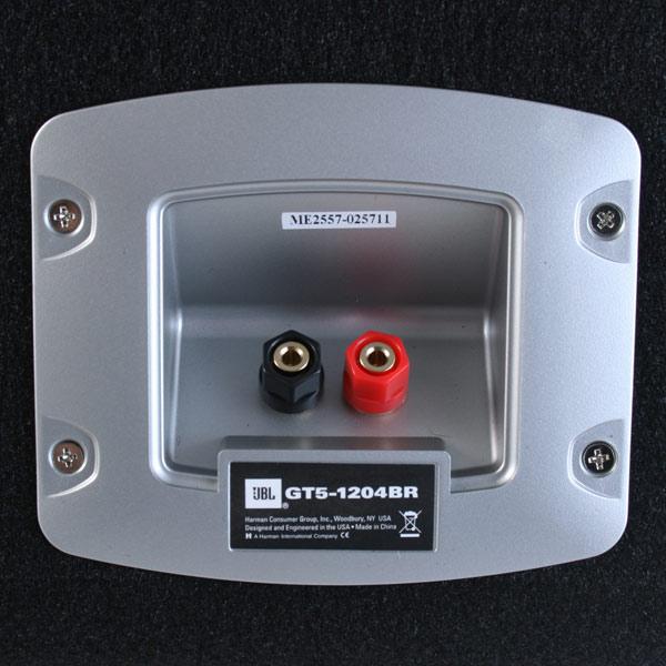 Сабвуфер JBL GT5-1204BR - фото 9