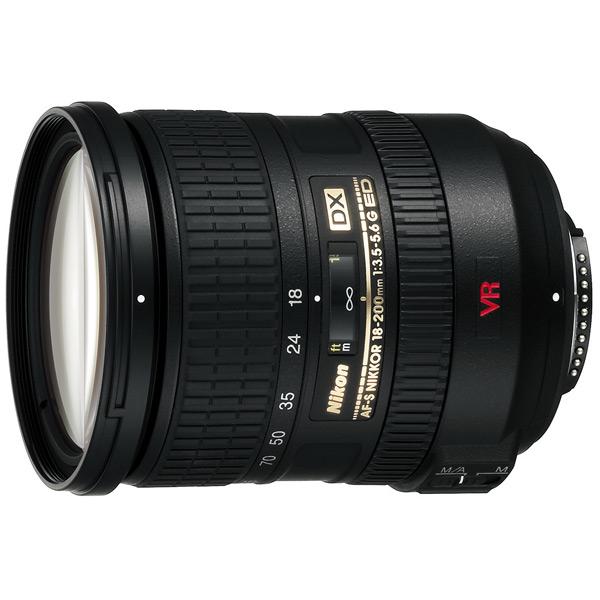 Объектив Nikon AF-S DX Nikkor 18-200mm f/3.5-5.6G ED VR II профессиональная цифровая slr камера nikon d3200 18 55mmvr