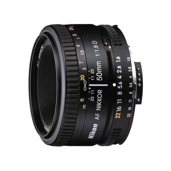 Объектив Nikon AF Nikkor 50mm f/1.8D nikon nikon af s nikkor 28mm f 1 8g фиксированный фокус широкоугольный объектив