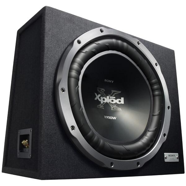Автомобильный сабвуфер корпусной Sony XS-GTX150 LE цена и фото