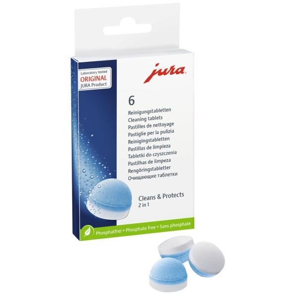 Чистящее средство для кофемашины Jura 62715 чистящее средство для кофемашины siemens таблетки для удаления накипи tz80002