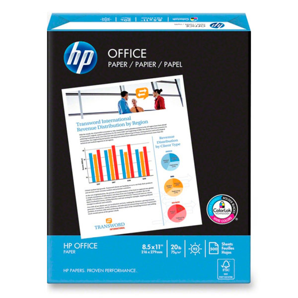Бумага для принтера A4 HP CHP110