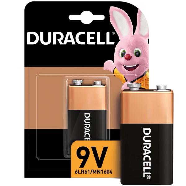 Батарея Duracell 9V 1шт