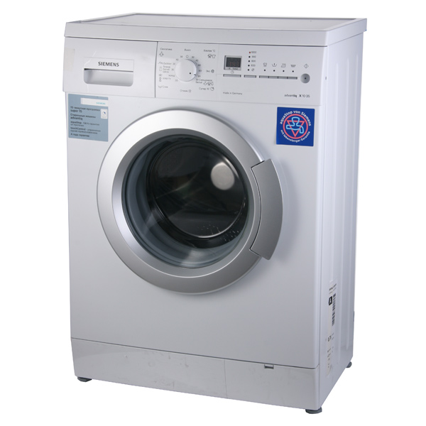 К стиральной машине siemens advantiq x12 45 руководство