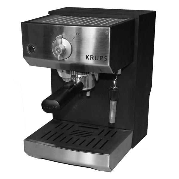 Купить Кофеварка рожкового типа Krups XP522030 в каталоге интернет магазина М.Видео по выгодной цене с доставкой, отзывы, фотографии - Москва