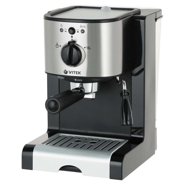Кофеварка рожкового типа Vitek VT-1513 BK