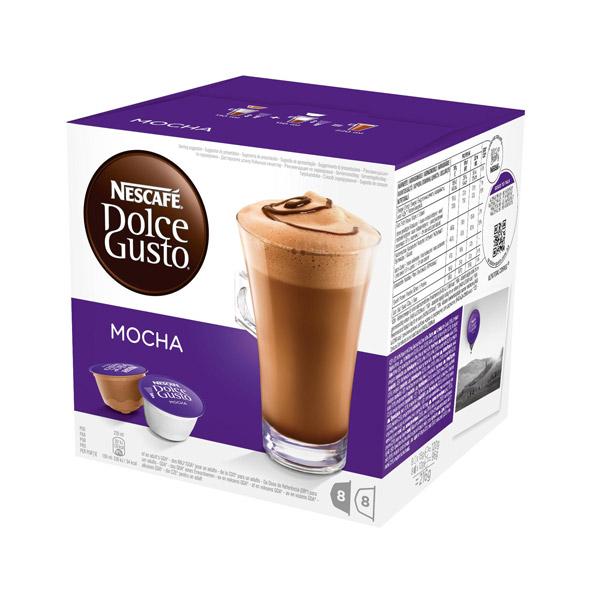 Купить Кофе в капсулах Nescafe Dolce Gusto Mocha 8 шт в каталоге ...