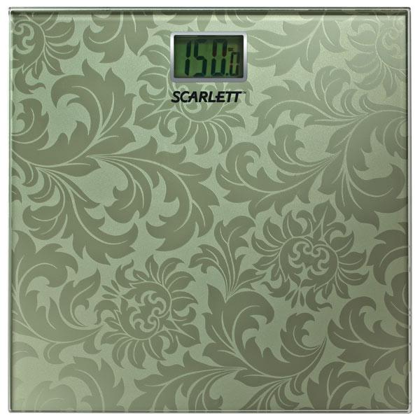 Scarlett, Весы напольные, SC-217 Gold