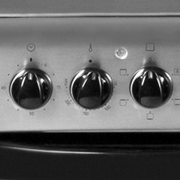Купить электрическая плита (50-55 см) hotpoint-ariston cm5 v21(x.