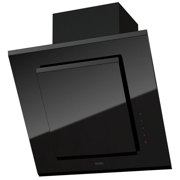 Вытяжка 60 см Krona LILY 600 Black 3P-S вытяжка 60 см krona janna 600 white