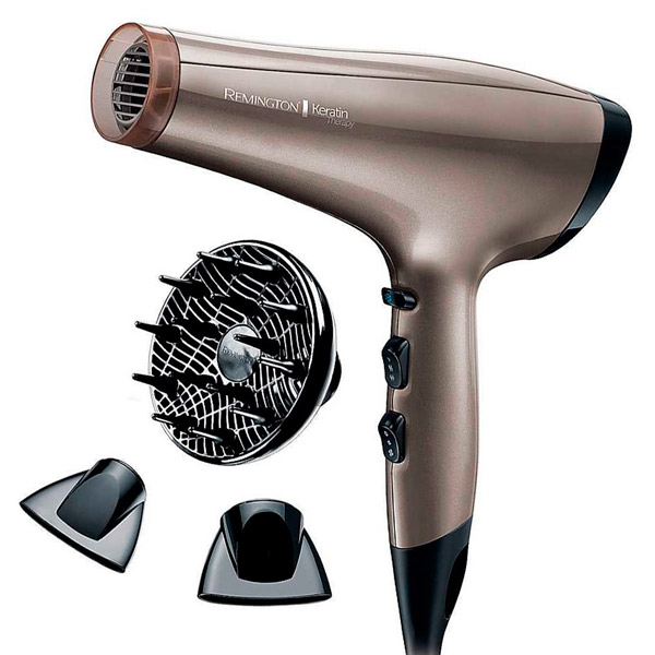 Фен Remington Keratin Therapy Pro Dryer AC8000 фен remington d5216 shine therapy 2300вт диффуз концентр иониз белый