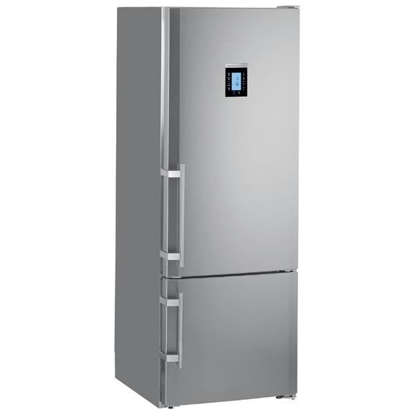 Холодильник с нижней морозильной камерой широкий Liebherr CBNPes 4656-20