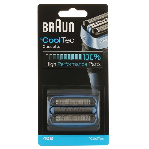 цена на Сетка и режущий блок для электробритвы Braun CoolTec 40B