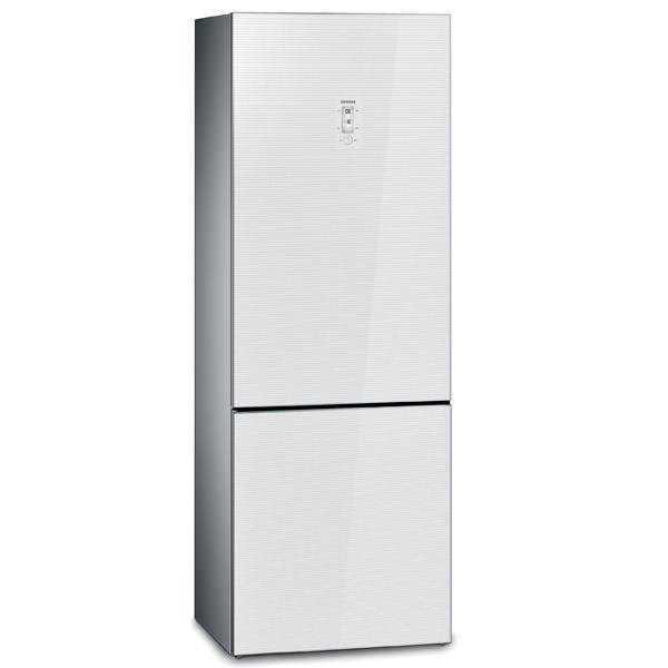 Холодильник с нижней морозильной камерой широкий Siemens
