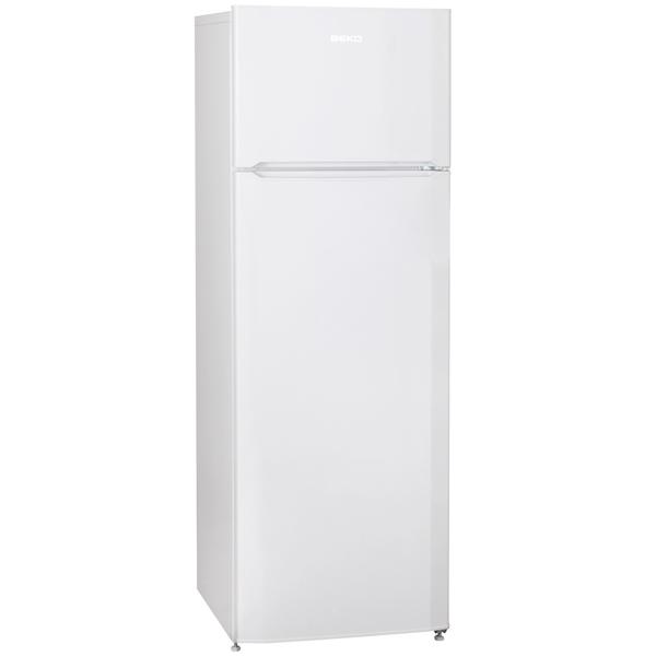 Холодильник с верхней морозильной камерой Beko DSMV528001W vogue vogel очки пушки рама розовый цвет коричневый градиент линзы моды полный оправе очки солнцезащитные очки vo3997s 548 14 58мм