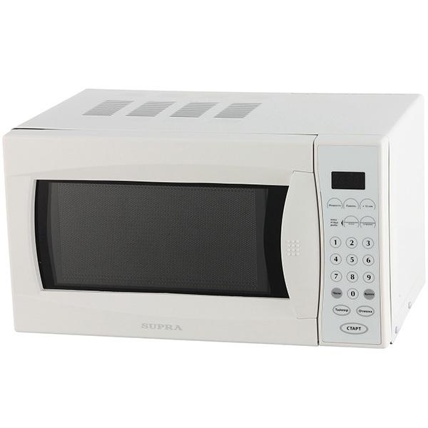 Микроволновая печь соло Supra MWS-1806SW свч supra mws 1808mw 18 л белый