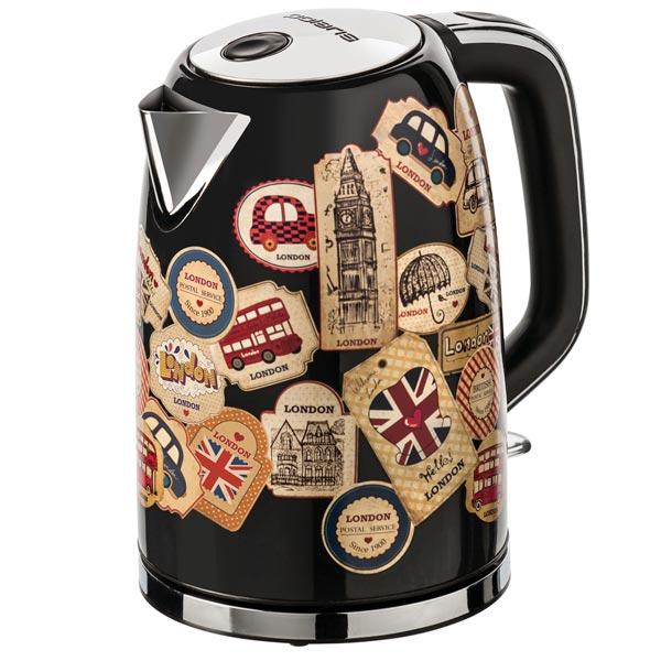 Электрочайник Polaris PWK 1730CA London кофеварка polaris pcm 0210 450 вт черный