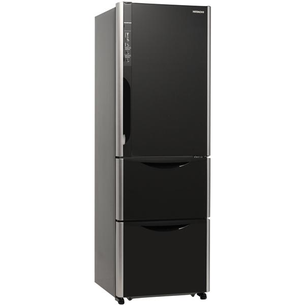 Холодильник с нижней морозильной камерой Hitachi Solfege R-SG 37 BPU GBK