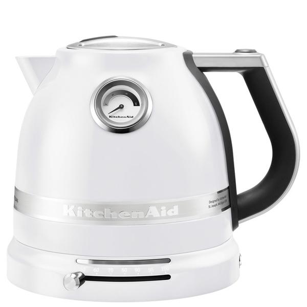 Электрочайник KitchenAid Artisan 5KEK1522EFP морозный жемчуг кофемашина капсульного типа nespresso kitchenaid artisan 5kes0504efp морозный жемчуг