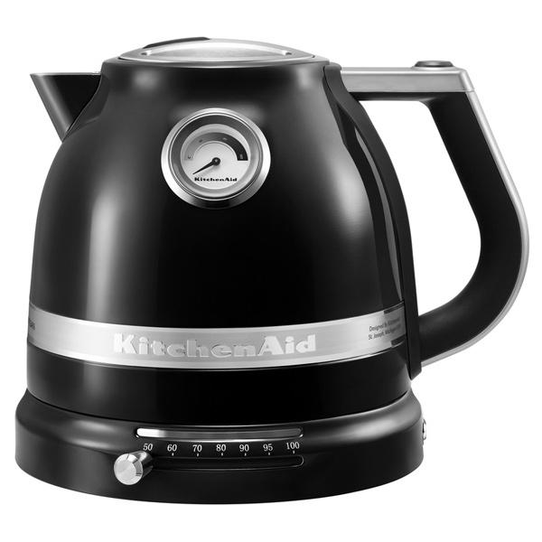 Электрочайник KitchenAid Artisan 5KEK1522EOB черный kitchenaid набор прямоугольных чаш для запекания 0 45 л 2 шт красные