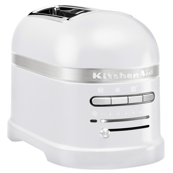 Тостер KitchenAid Artisan 5KMT2204EFP морозный жемчуг тостер kitchenaid 5kmt2204ems artisan
