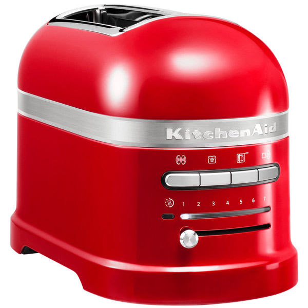Тостер KitchenAid Artisan 5KMT2204EER красный тостер kitchenaid 5kmt2204ems artisan