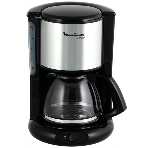 Кофеварка капельного типа Moulinex Subito FG360830 цена и фото