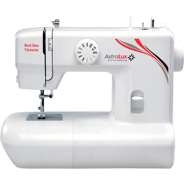 Швейная машина Astralux Red line Victoria швейная машинка astralux 7350 pro series вышивальный блок ems700