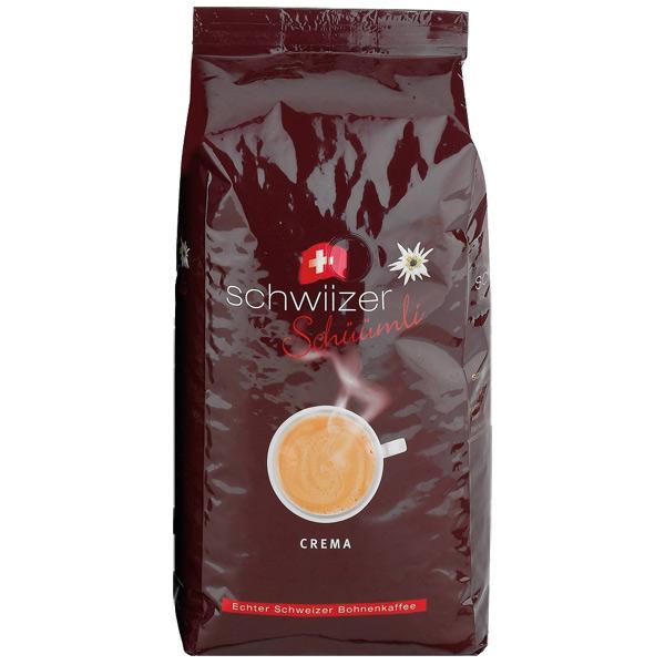 Кофе в зернах Schwiizer Crema 1000 г