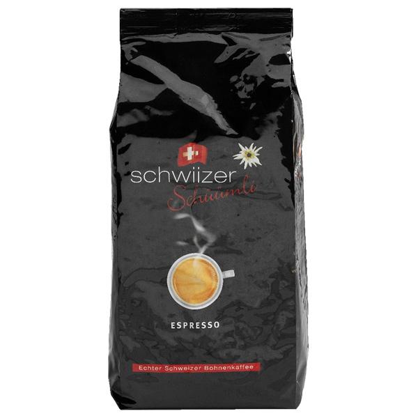 Кофе в зернах Schwiizer
