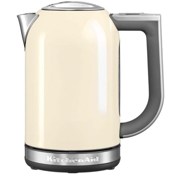 Электрочайник KitchenAid 5KEK1722EAC кремовый kitchenaid набор прямоугольных чаш для запекания 0 45 л 2 шт красные