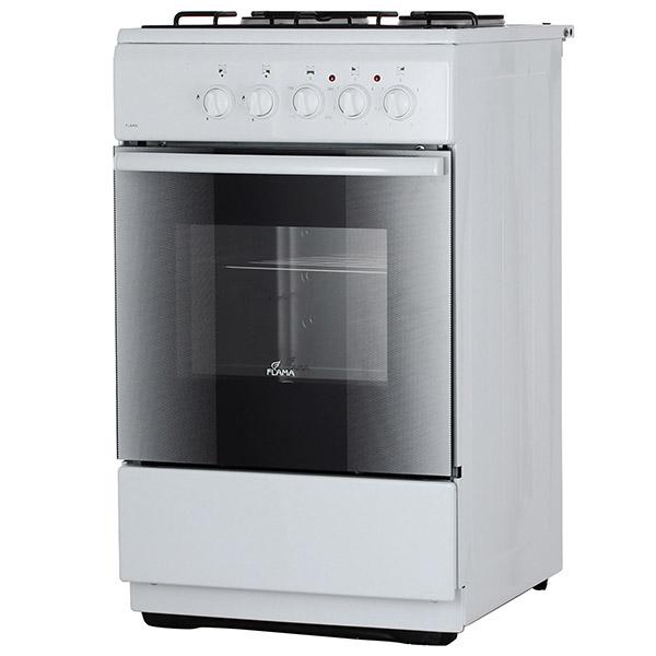 Комбинированная плита (50-55 см) Flama RK2213 White