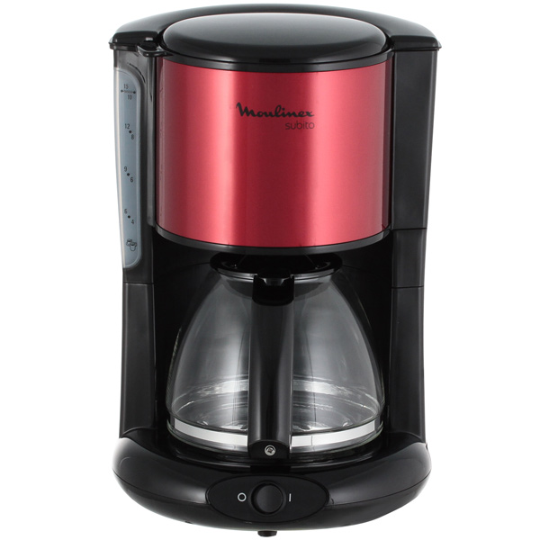 Кофеварка капельного типа Moulinex Subito FG360D10 цена и фото