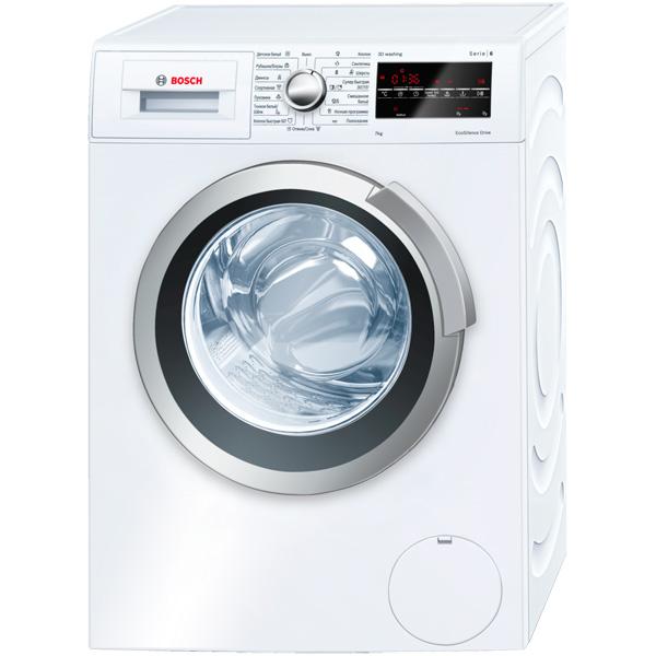 цены Стиральная машина узкая Bosch Serie 6 3D Washing WLT24460OE