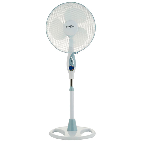 Вентилятор напольный Scarlett SC-379 White вентилятор scarlett sc sf111t01 белый