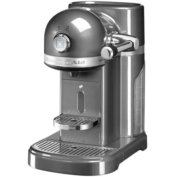 Кофемашина капсульного типа Nespresso KitchenAid Artisan 5KES0503EMS кофемашина капсульного типа nespresso kitchenaid artisan 5kes0504efp морозный жемчуг