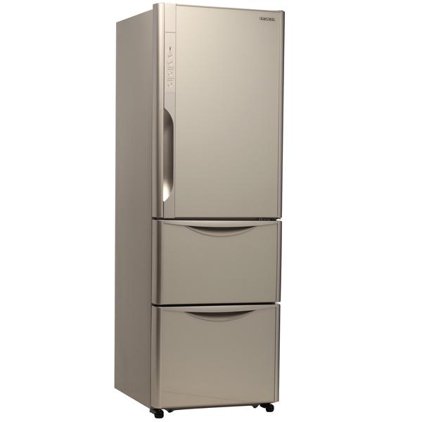 Холодильник с нижней морозильной камерой Hitachi Solfege R-SG 37 BPU INX