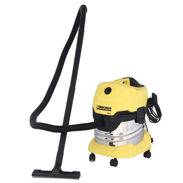 Пылесос с пылесборником Karcher WD 4 Premium строительный пылесос karcher wd 4 premium желтый