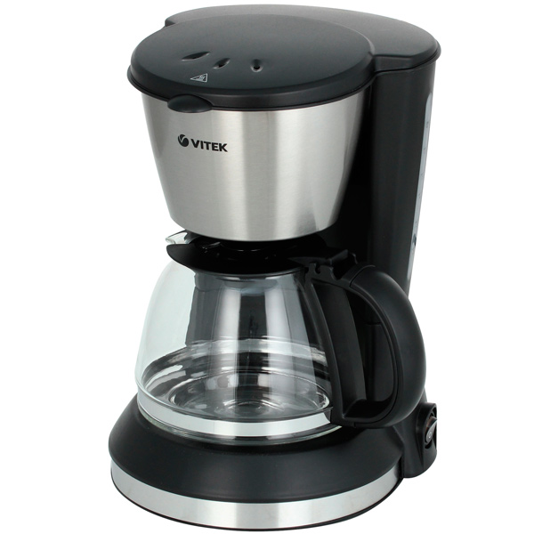 Кофеварка капельного типа VITEK VT 1506 BK кофеварка polaris pcm 0210 450 вт черный