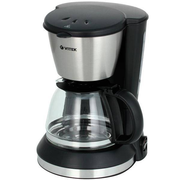Кофеварка капельного типа VITEK VT 1506 BK цена и фото