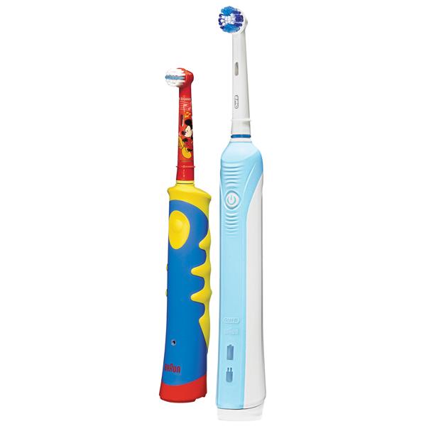 Электрическая зубная щетка Braun Oral-B 500/D16.513.U+D10.51K цена 2017