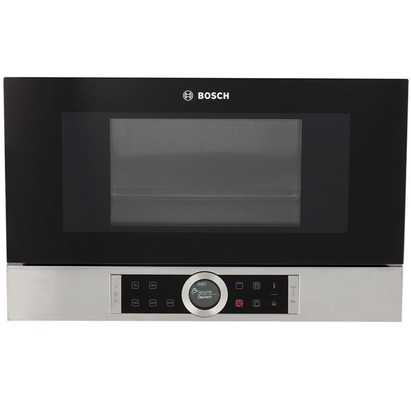 Встраиваемая микроволновая печь Bosch BEL634GS1 микроволновые печи bosch микроволновая печь