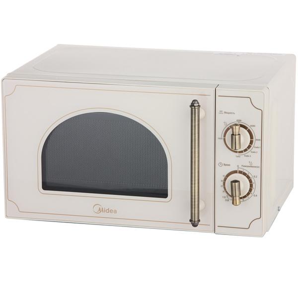 Микроволновая печь с грилем Midea Retro MG820CJ7-I2 lg mb65w95gih white свч печь с грилем