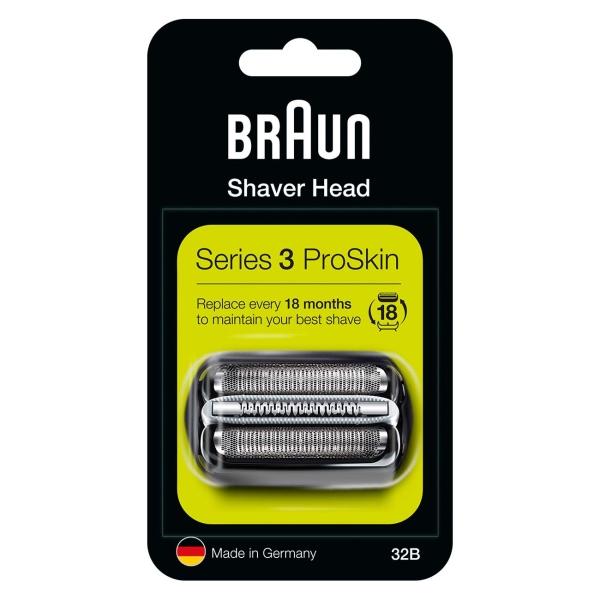 Сетка и режущий блок для электробритвы Braun Series 3 32B MicroComb