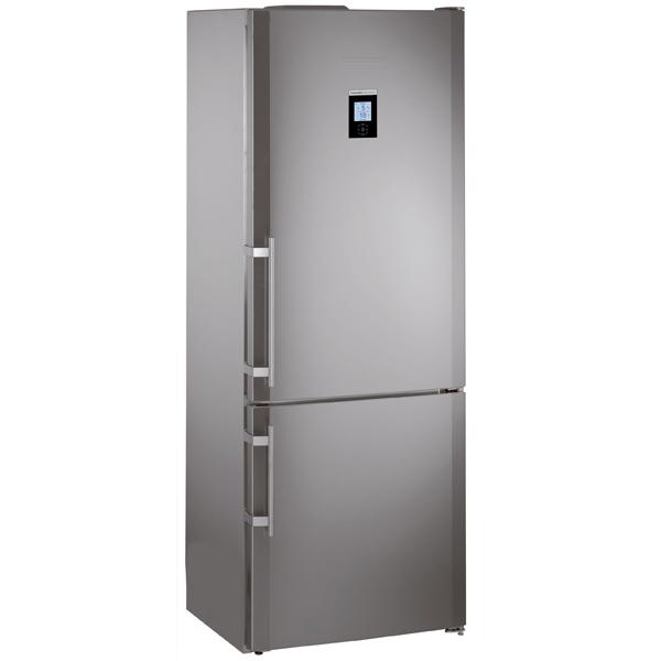 Холодильник с нижней морозильной камерой широкий Liebherr CBNPes 5167-21 плнка пвх на двери